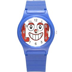Laughing Out Loud Illustration002 Plastic Sport Watch (small)