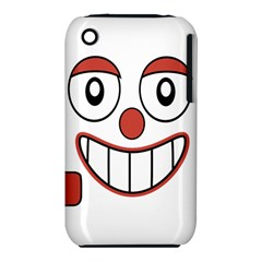 Laughing Out Loud Illustration002 Apple iPhone 3G/3GS Hardshell Case (PC+Silicone)