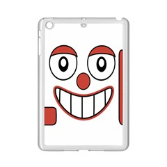 Laughing Out Loud Illustration002 Apple Ipad Mini 2 Case (white)