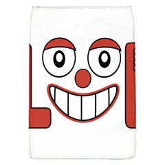 Laughing Out Loud Illustration002 Removable Flap Cover (Large)