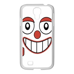 Laughing Out Loud Illustration002 Samsung GALAXY S4 I9500/ I9505 Case (White)