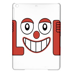 Laughing Out Loud Illustration002 Apple iPad Air Hardshell Case