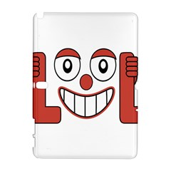 Laughing Out Loud Illustration002 Samsung Galaxy Note 10.1 (P600) Hardshell Case