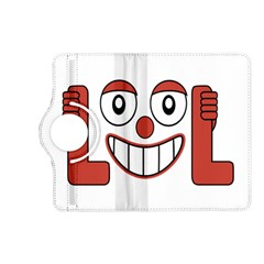 Laughing Out Loud Illustration002 Kindle Fire Hd (2013) Flip 360 Case