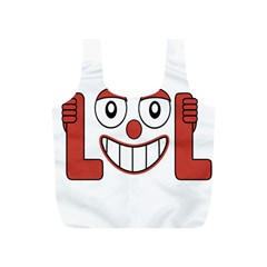 Laughing Out Loud Illustration002 Reusable Bag (S)