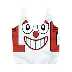 Laughing Out Loud Illustration002 Reusable Bag (M)