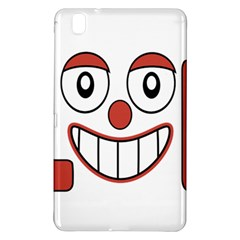 Laughing Out Loud Illustration002 Samsung Galaxy Tab Pro 8 4 Hardshell Case