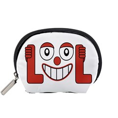 Laughing Out Loud Illustration002 Accessory Pouch (small)