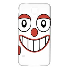 Laughing Out Loud Illustration002 Samsung Galaxy S5 Back Case (White)