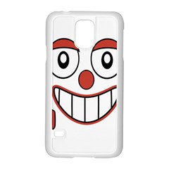 Laughing Out Loud Illustration002 Samsung Galaxy S5 Case (White)