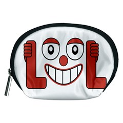 Laughing Out Loud Illustration002 Accessory Pouch (Medium)