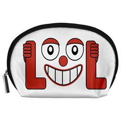 Laughing Out Loud Illustration002 Accessory Pouch (Large)