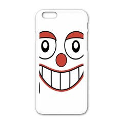 Laughing Out Loud Illustration002 Apple iPhone 6 White Enamel Case