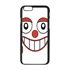 Laughing Out Loud Illustration002 Apple iPhone 6 Black Enamel Case