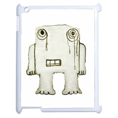 Sad Monster Baby Apple Ipad 2 Case (white)