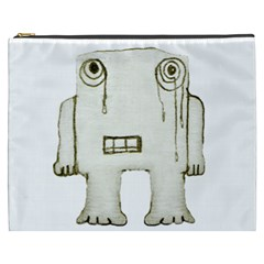 Sad Monster Baby Cosmetic Bag (XXXL)