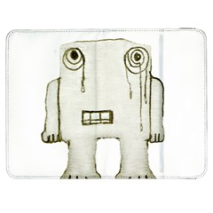 Sad Monster Baby Samsung Galaxy Tab 7  P1000 Flip Case