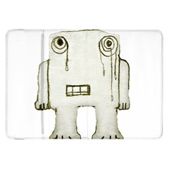 Sad Monster Baby Samsung Galaxy Tab 8 9  P7300 Flip Case