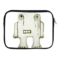 Sad Monster Baby Apple Ipad Zippered Sleeve