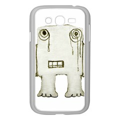 Sad Monster Baby Samsung Galaxy Grand Duos I9082 Case (white)
