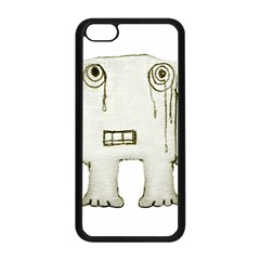 Sad Monster Baby Apple iPhone 5C Seamless Case (Black)