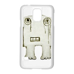Sad Monster Baby Samsung Galaxy S5 Case (White)
