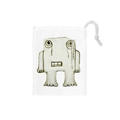 Sad Monster Baby Drawstring Pouch (Small)