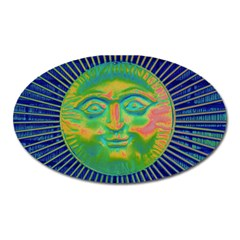 Sun Face Magnet (oval)