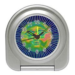 Sun Face Desk Alarm Clock