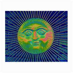 Sun Face Glasses Cloth (Small, Two Sided)