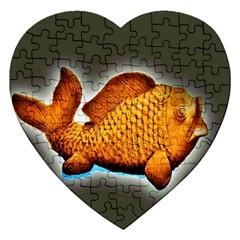 Goldfish Jigsaw Puzzle (heart)