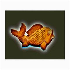 Goldfish Glasses Cloth (small)