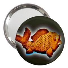 Goldfish 3  Handbag Mirror