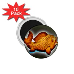 Goldfish 1.75  Button Magnet (10 pack)
