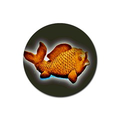 Goldfish Drink Coasters 4 Pack (round)