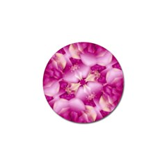 Beauty Pink Abstract Design Golf Ball Marker 4 Pack