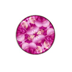 Beauty Pink Abstract Design Golf Ball Marker 4 Pack (for Hat Clip)