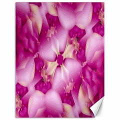 Beauty Pink Abstract Design Canvas 12  X 16  (unframed)