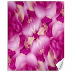 Beauty Pink Abstract Design Canvas 16  x 20  (Unframed)