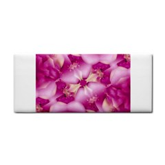 Beauty Pink Abstract Design Hand Towel