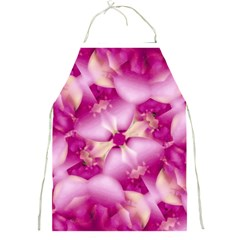 Beauty Pink Abstract Design Apron