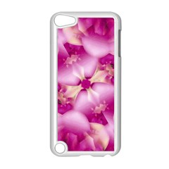 Beauty Pink Abstract Design Apple iPod Touch 5 Case (White)