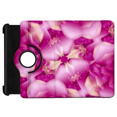 Beauty Pink Abstract Design Kindle Fire HD Flip 360 Case