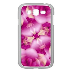 Beauty Pink Abstract Design Samsung Galaxy Grand DUOS I9082 Case (White)