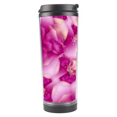 Beauty Pink Abstract Design Travel Tumbler