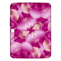 Beauty Pink Abstract Design Samsung Galaxy Tab 3 (10.1 ) P5200 Hardshell Case