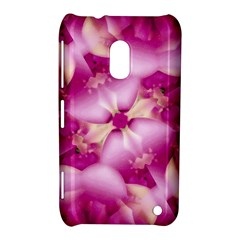Beauty Pink Abstract Design Nokia Lumia 620 Hardshell Case