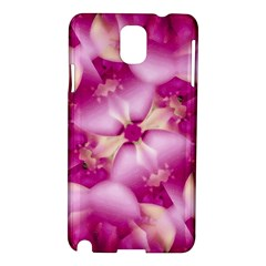 Beauty Pink Abstract Design Samsung Galaxy Note 3 N9005 Hardshell Case