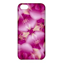Beauty Pink Abstract Design Apple Iphone 5c Hardshell Case