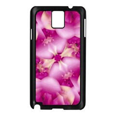 Beauty Pink Abstract Design Samsung Galaxy Note 3 N9005 Case (black)